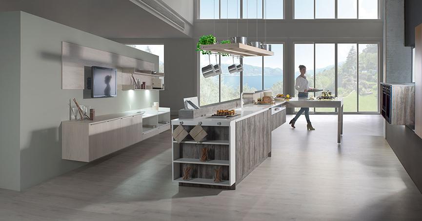 Cocinas etxeguren delta tirador lineal - Delta cocinas ...